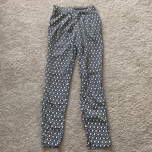 HM Pants Hm Flowy Patterned Poshmark Fascinating Patterned Flowy Pants